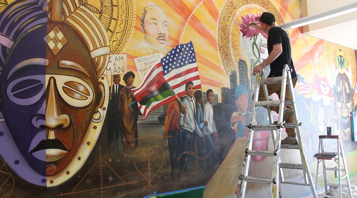 Graffiti Artist Betters The Streets Of South Central