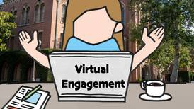 Virtual engagement allows students to stay connected to campus