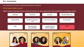 2021 USG presidential candidate platforms