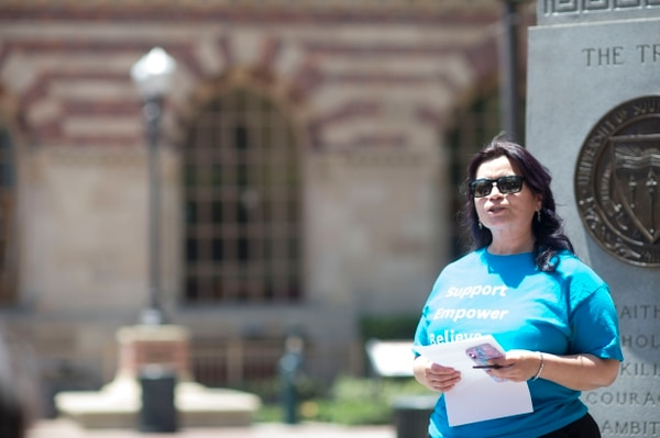 Elizabeth Reyes, the interim director of USC RSVP (Photo by Alan Mittelstaedt)
