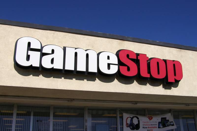 "Gamestop stock has ""shot to the moon."""