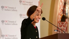 President Carol Folt looks forward in State of the University address as USC prepares to welcome students back to campus in the fall