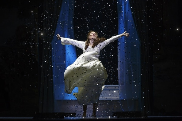 Christine Dwyer as Sylvia Llewelyn Davies in the National Production of Finding Neverland (Photo by Carol Rosegg)