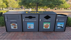 USC's new recycling bins aim for sustainability, but will students sort their trash?