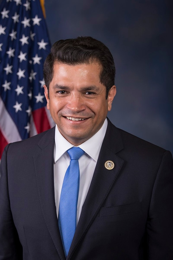 Jimmy Gomez official freshman Congressional portrait (Courtesy of US House Office of Photography)