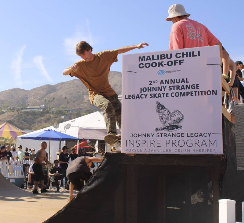 Photo gallery of competition participants at the 2nd Annual Johnny Strange Legacy Skate Competition in Lalibu.