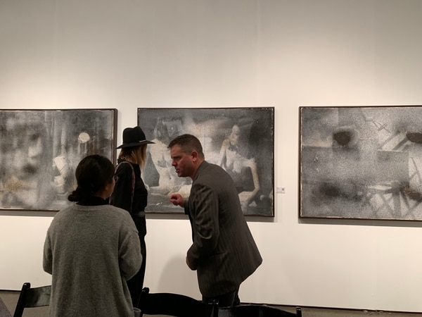 CM2 Space was one of the exhibitors at the 2019 LA Art Show (photo courtesy of CM2 Space).