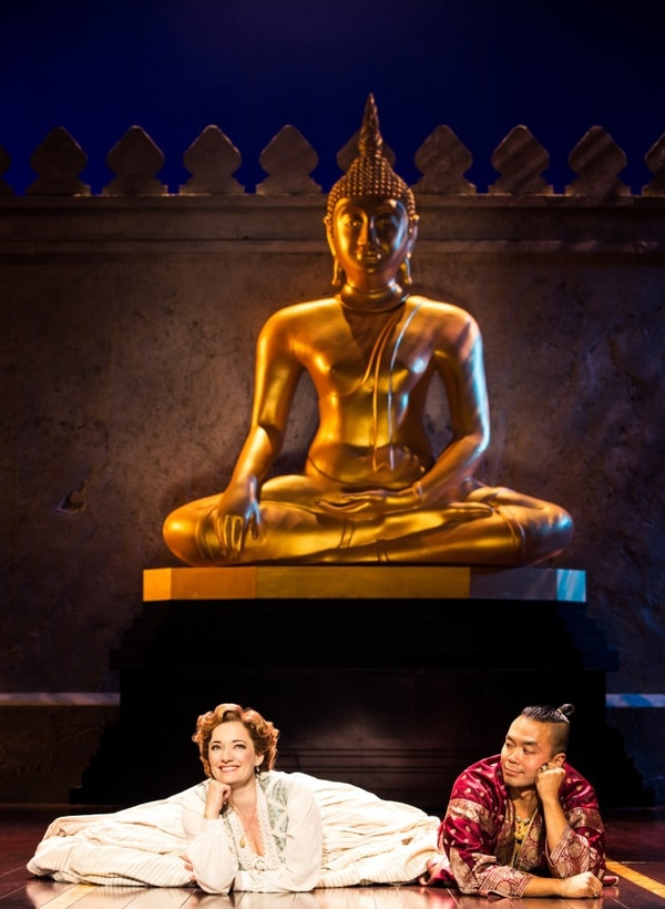Laura Michelle Kelly and Jose Llana in Rodgers & Hammerstein's The King and I. (Photo by Matthew Murphy)