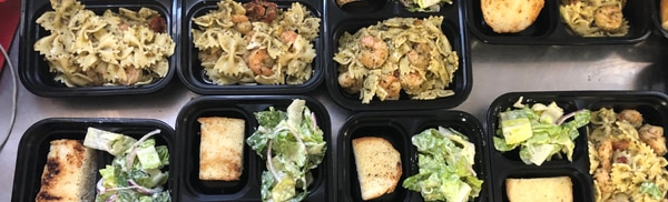 The meal program sought to keep low income seniors vulnerable to COVID-19 safe by delivering their food. (Image courtesy of Georgette Powell)