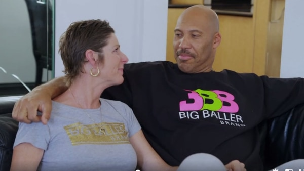 LaVar and Tina (Photo: Sporting News)
