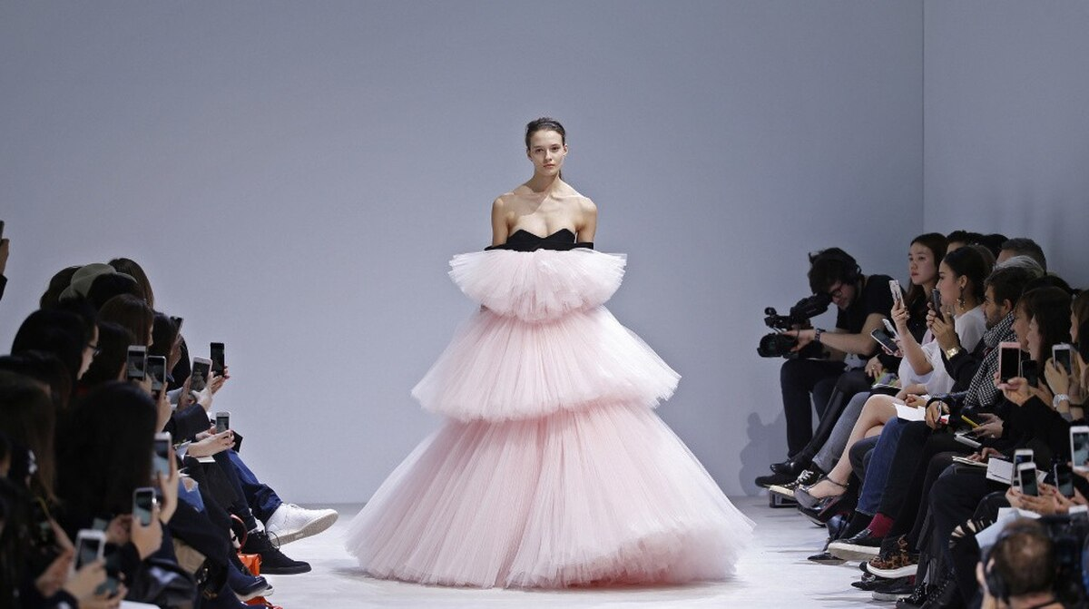 Designers Showcase Their Latest During The Spring Haute Couture Fashion Week In Paris
