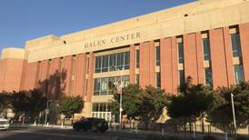 Galen Center opens as voting site with new safety measures in place