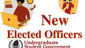 Swearing-in new USG elected officers spark tension on new cabinet member
