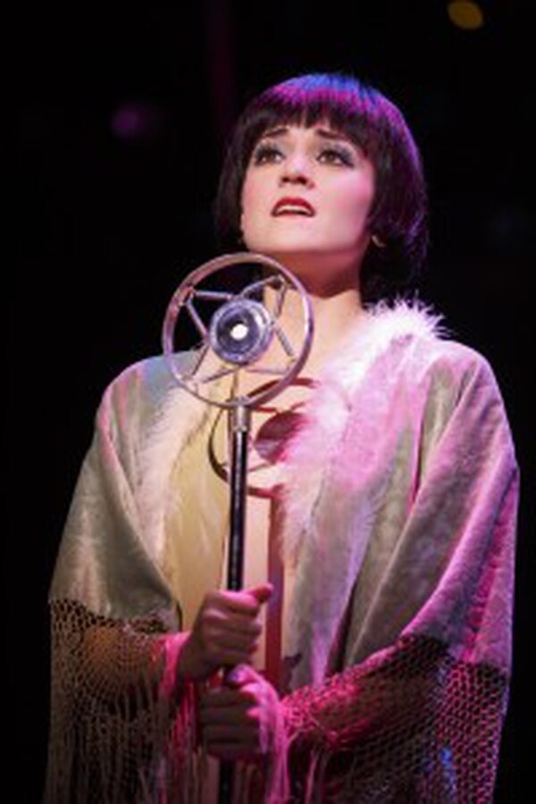 Andrea Goss as Sally Bowles (Photo by Joan Marcus)