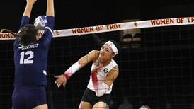 USC women's volleyball suffers narrow loss to San Diego
