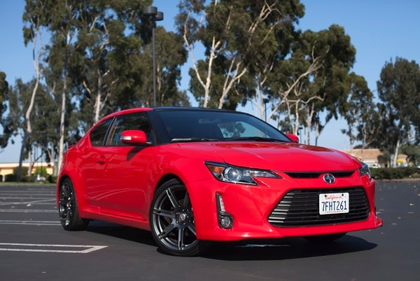 "Want one of these? You have until August before this car says Scion-ara! (Amou ""Joe"" Seto/USC Annenberg Media)"