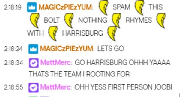 Harrisburg won the second map, and fans regained confidence in their team