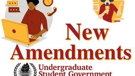 Several amendments pitched at recent USG meeting