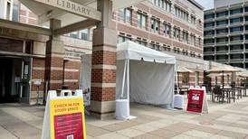 Students and faculty take advantage of campus libraries reopening