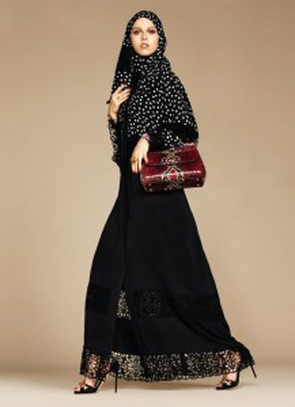 "Dolce & Gabbana's ""The Abaya Collection: The Allure of The Middle East"""