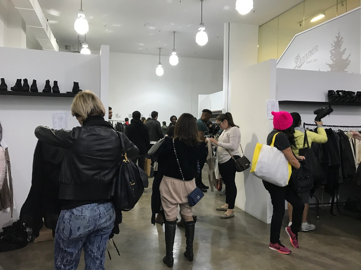 Shoppers Flock To Cooper Design Space For Sample Sale Friday