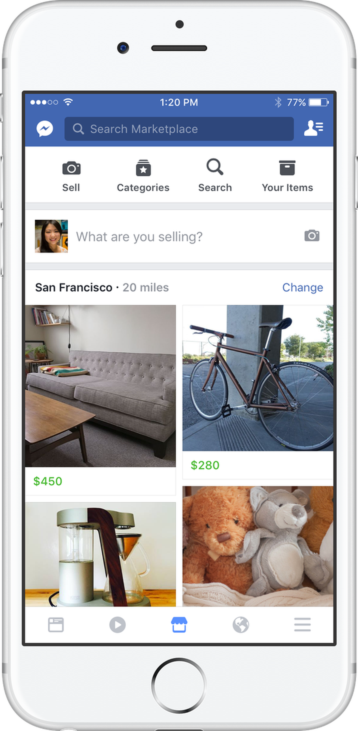 Facebook's New Tool Marketplace Helps You Buy and Sell Items