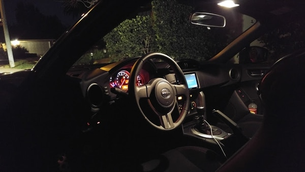 "The FR-S's cabin is very spartan, but for good reason. (Amou ""Joe"" Seto/USC Annenberg Media)"
