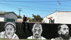 """""""Put some soul on the wall"""": How Tehrell Porter's murals of fallen legends have painted a legacy of their own"""