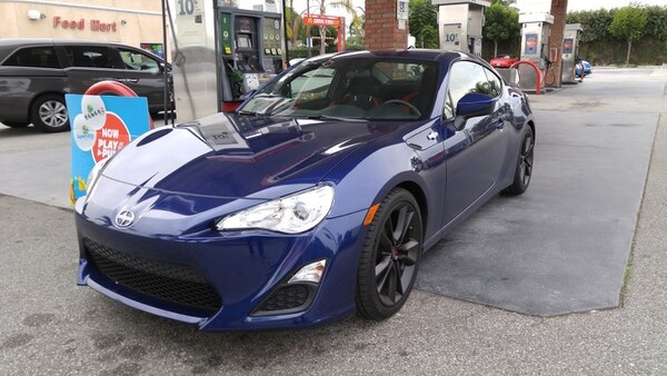 "The Scion FR-S is a niche product – it's specifically designed for driving enthusiasts. (Amou ""Joe"" Seto/USC Annenberg Media)"