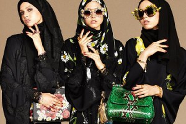 """Dolce & Gabbana's """"The Abaya Collection: The Allure of The Middle East"""""""