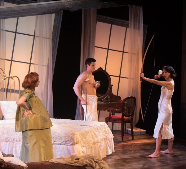 Tamara Krinsky, Daniel Bess, and Linda Park.Photo by Steven C. Kemp
