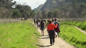 Women create a safe intersectional space through hiking.