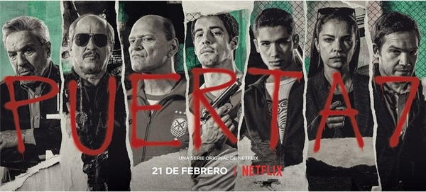 The cast of the Netflix series